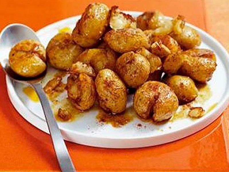 Хрустящий молодой картофель запеченный в духовке по деревенски