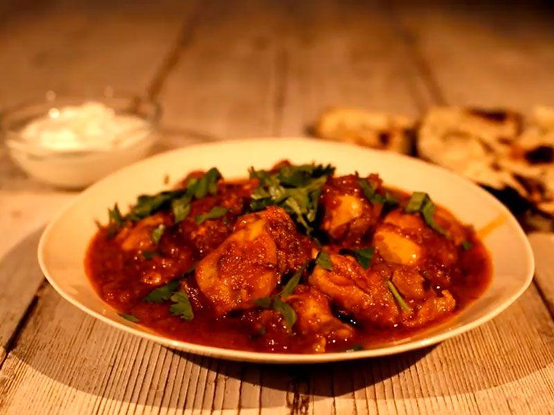 Курица Карри - классический рецепт по-индийски