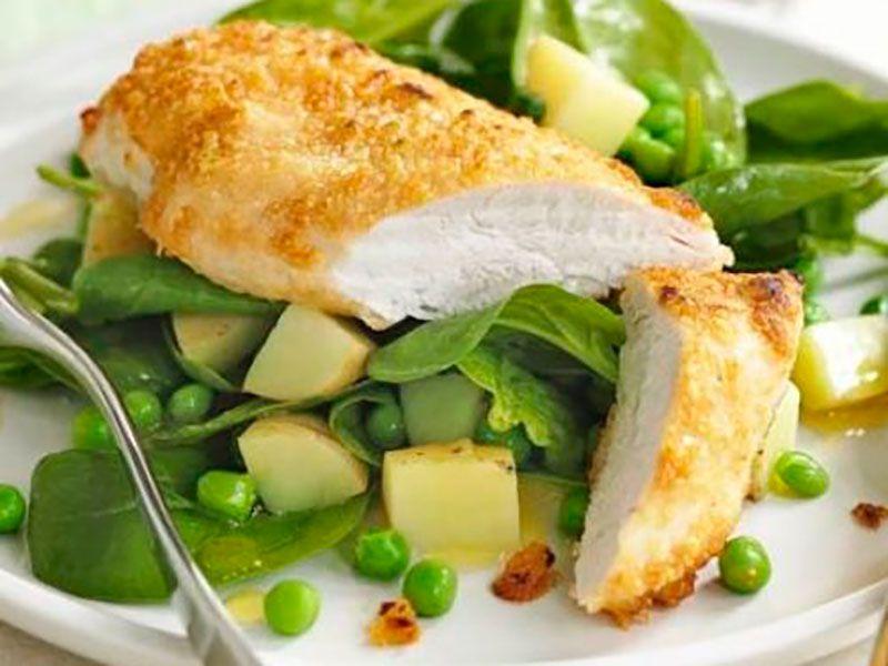 Курица с сыром Пармезан