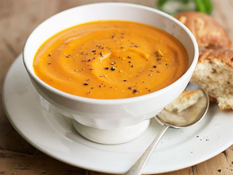 Морковно-томатный суп