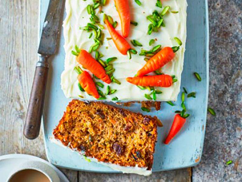 Морковный пирог - самый простой и вкусный рецепт