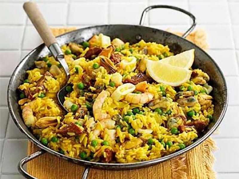 Паэлья с морепродуктами - самый лёгкий рецепт