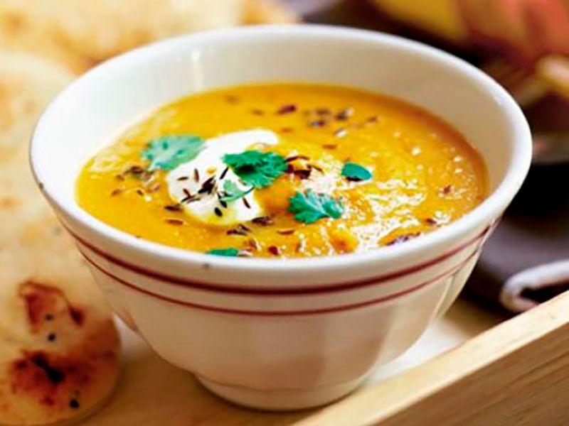 Пряный суп из чечевицы и моркови - вегетарианский рецепт просто и вкусно